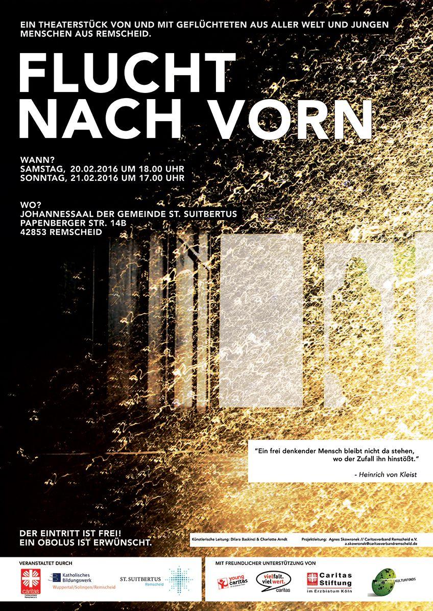 Bühne frei für das Theaterprojekt: Flucht nach vorn – Konvent!