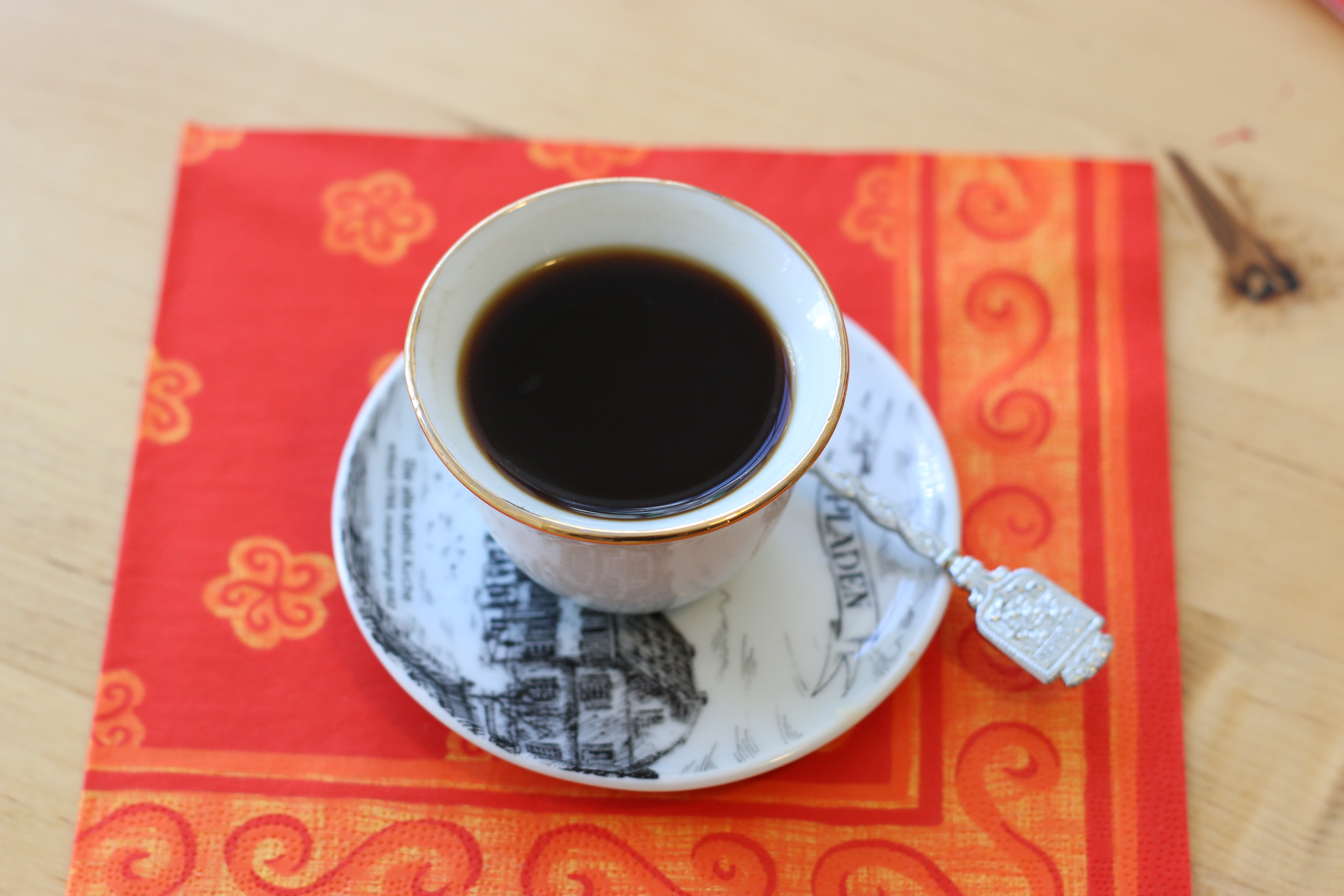 Der Duft von Kaffee