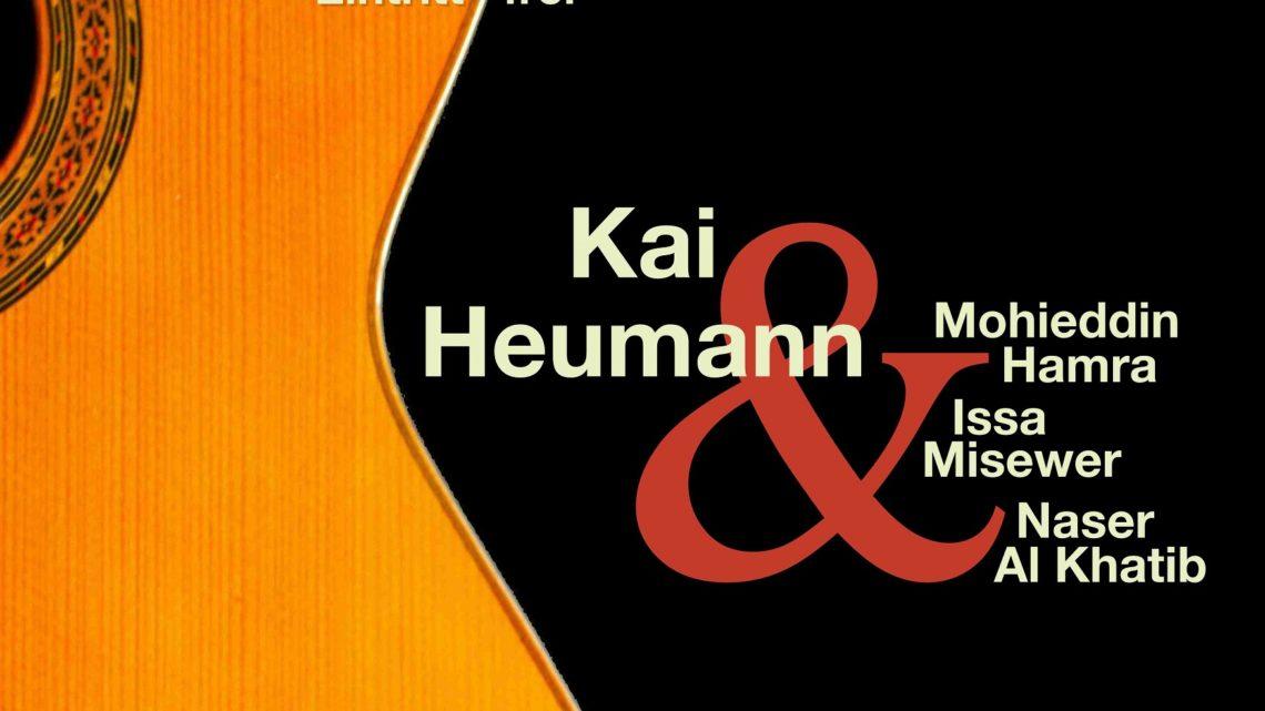Komm, setz Dich zu uns! Wir hören Musik und Geschichten aus aller Welt … am 10. November im Kaufhaus Remscheid